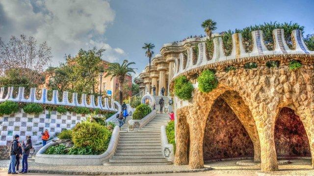 Η Βαρκελώνη του Γκαουντί