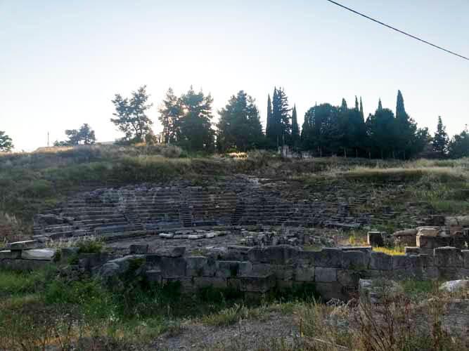 Αρχαίο Θέατρο Ορχομενού