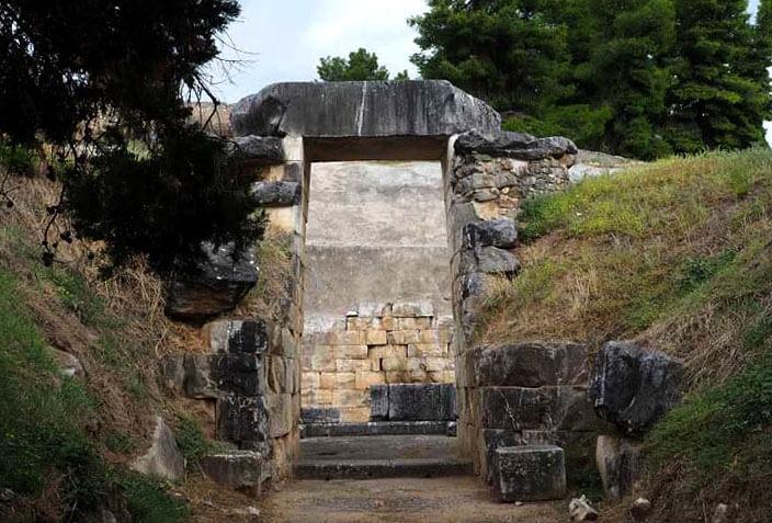 Είσοδος Τάφος του Μινύα Ορχομενός