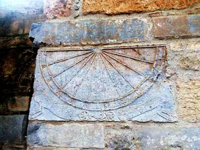 Ηλιακό Ρολόι Παναγία Σκριπού Ορχομενός