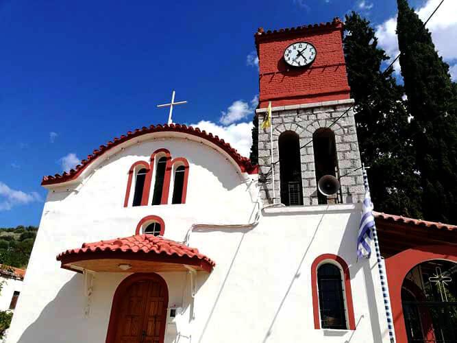 Εκκλησία Πύργος Ορχομενού